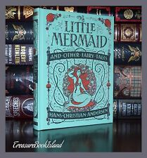 Little Mermaid Fairy Tales By Hans Andersen Sealed Leather Bound Collectible Ed