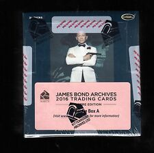 2016 James Bond Archives  Spectre Edition Sealed Archive Box  A & B