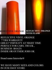 24 X 150 Ft Orange Reflective Vinyl Adhesive Cutter Sign Special Price