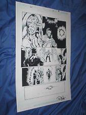 GREEN LANTERN #35 Original Art Page #6 ~Billy Tan/Rob Hunter JLA/MOVIE Comic Art