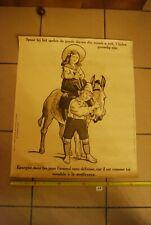 AF1 Ancienne affiche - Protection des animaux - Epargne les animaux dans le jeu