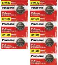 Panasonic Genuine CR1620 DL1620 3V Lithium Button Coin Cell Watch Battery x 7pcs