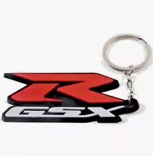 BRAND NEW SUZUKI GSXR GSX-R LOGO KEYRING KEYCHAIN FREE Delivery UK SELLER
