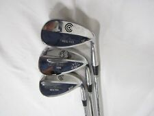 Cleveland Tour Action 588 - 53* 56* 60* Wedge Set - Steel Wedge flex Used RH