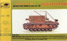 Char de dépannage Allemand BERGEPANZER III, Kit CMK 1/87 n° HOV017