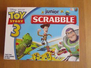 Junior Scrabble - Toy Story 3 Edition.  Mattel Games