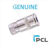 "Genuine PCL Vertex Air Line Hose Coupling Connector 3/8"" BSP Female"