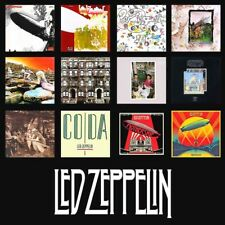 Led Zeppelin Album Discography All In One Sticker or Magnet