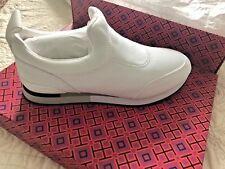 56304eb7a422 NIB Tory Burch Laney Neoprene Slip-On White fashion Sneakers shoes Size 8.5