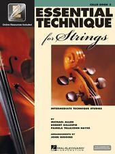 Essential Technique for Strings Cello Essential Elements Book 3 Essent 000868076