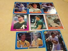 Mark McGwire Odd-ball Cards  -  Lot Of 8 Cards