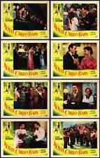 MONTE CARLO BABY original 1953 lobby card set AUDREY HEPBURN 11x14 movie posters