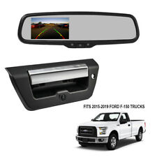 Rearview Mirror Withmonitorbackup Camera For 2015 2019 Ford F 150 Pickup Truck Fits Ford