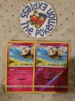 Pokémon TCG 2x Ribombee #146/214 (1 Reverse Holo) Rare Mint Lost Thunder Fairy