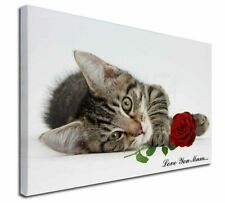 More details for kitten+rose 'love you mum' x-large 30
