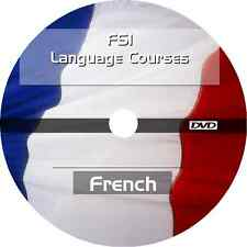 * LEARN TO SPEAK FRENCH LANGUAGE * FSI TRAINING COURSE * MP3 AUDIO PDF DVD *