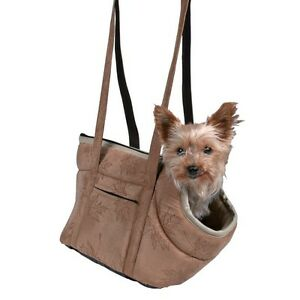 Vincent Trixie Pet Bag Carrier Beige For Cats & Small Dogs 36402