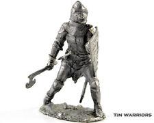 France. Knight 14 Century Tin toy soldier miniature figurine metal sculpture