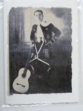 handmade greetings / birthday card TANGO SINGER , JULIO IBANEZ