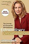 Extraordinary Circumstances , Cynthia Cooper