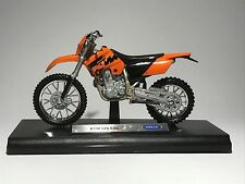 KTM 525 EXC scale 1:18 model bike diecast bike toy bike car