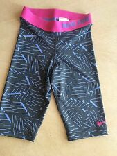 "Nike Women's Pro Bash 11"" Compression Running Shorts, Size XS, Blue,  With Tags."