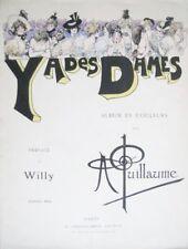 Albert Guillaume Y a des dames EO 1900 Humour illustrateur