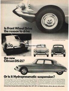 1966 Citroen DS-21 Pallas Vintage Ad