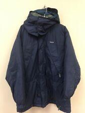 Vintage Patagonia Insulated Long Coat Jacket Size Mens Large Blue Green Parka