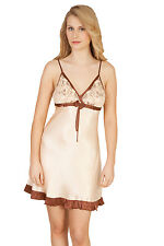 Luxurious Pure Mulberry Silk Sheer Shine Chemise NEW With Gift Box Size M