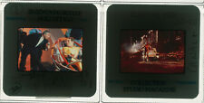 Lot 2 ektas slides originals Running Man Arnold Schwarzenegger