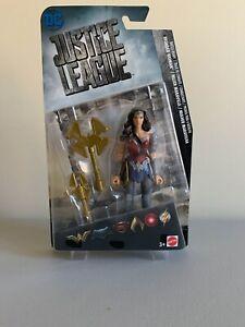 """JUSTICE LEAGUE JLA  Wonder Woman  6"""" Figure by Mattel DC Comics Movie 2017"""