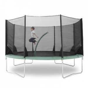 New 6/8 Pole Replacement Outdoor Trampoline Safety Net Enclosure (Net Only)