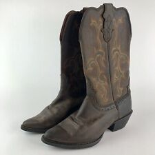 Justin Sorrel Apache Boots L2551 Brown Cowgirl Ranch Western Women Size 6 B