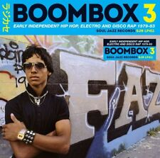 SOUL JAZZ RECORDS PRESENTS/BOOMBOX 3 (1979-1983) EARLY INDIE HIPHOP 2 CD NEW!
