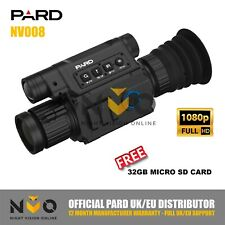 PARD NV008 Night Vision Rifle Gun Scope Spotter HD Recording 850nm IR torch