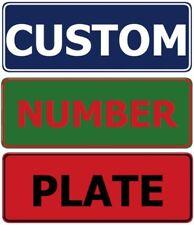 Custom Design Your Own Standard Novelty Number Plate