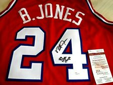 BOBBY JONES (1983 NBA Champs) Signed 76ers (Sixers) Jersey -JSA Authenticated