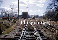 Boston & Maine RR 1127 Tilton NH  November 1965