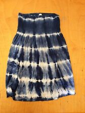 I Love H81 Blue Tie Dye Top Size Small MAK