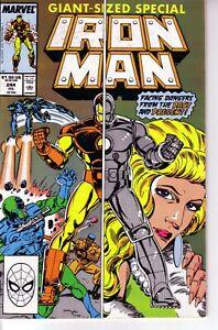 IRON MAN #244 (FN) 1989