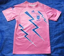 STADE FRANCAIS Paris FRANCE RUGBY away shirt jersey ADIDAS 2004/05 adult SIZE L