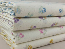 Unbranded 1 - 2 Metres Floral Cotton Blend Craft Fabrics