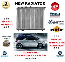 pour Citroen DS3 1.4 1.6 VTI 95 98 120 LPG 2009- > TOUT NOUVEAU Radiateur unité