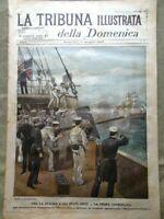 La Tribuna Illustrata 1 Maggio 1898 Guerra Spagna e Stati Uniti Ciclismo Torino