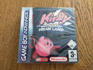 KIRBY NIGHTMARE IN DREAM LAND - GAME BOY ADVANCE - NEUF SOUS BLISTER FR-UK-DE-ES