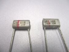 .001 uF 100 Volt  Polystyrene Capacitor (NOS, New Old Stock)(QTY 20 ea)P511