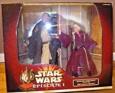 Star Wars Episode 1 Qui-Gon Jinn & Queen Amidala - 2000 Portrait Edition Hasbro