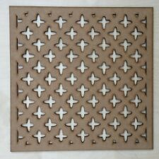 Radiator Cabinet Decorative Screening Square Radiator Grille MDF 3mm and 6mm P1