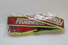 Feuerwehr Schlüsselband rot / gelb Feuerwehr 112